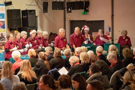Mablethorpe Rotary Carol Concert 2018 Bell Ringers