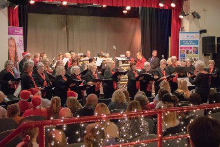 Mablethorpe Rotary Carol Concert 2018 Choir