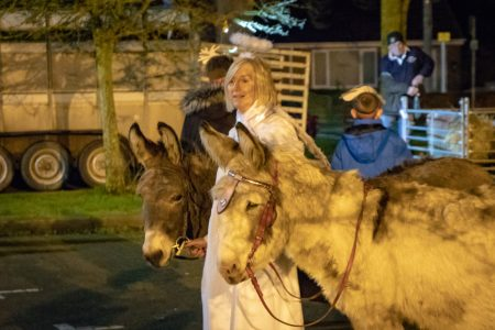 Nativity Play Donkeys