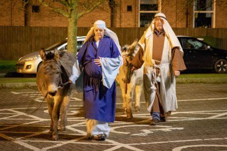 Nativity Play Mary And Joseph