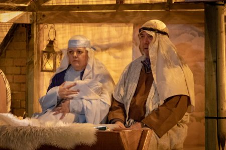 Nativity Play Mother And Child