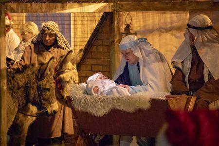 Nativity Play The Crib